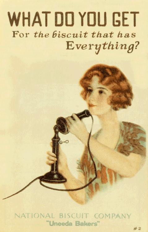 1920's Oreo Ad