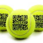 QR Code Tennis Balls